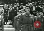 Image of Vichy Legion Tricolore troops Paris France, 1942, second 6 stock footage video 65675020635