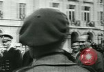 Image of Vichy Legion Tricolore troops Paris France, 1942, second 13 stock footage video 65675020635