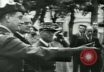 Image of Vichy Legion Tricolore troops Paris France, 1942, second 27 stock footage video 65675020635