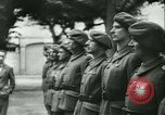 Image of Vichy Legion Tricolore troops Paris France, 1942, second 29 stock footage video 65675020635