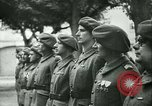 Image of Vichy Legion Tricolore troops Paris France, 1942, second 30 stock footage video 65675020635