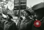 Image of Vichy Legion Tricolore troops Paris France, 1942, second 32 stock footage video 65675020635