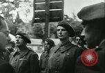Image of Vichy Legion Tricolore troops Paris France, 1942, second 33 stock footage video 65675020635
