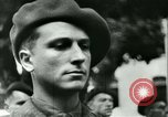 Image of Vichy Legion Tricolore troops Paris France, 1942, second 34 stock footage video 65675020635