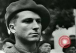 Image of Vichy Legion Tricolore troops Paris France, 1942, second 35 stock footage video 65675020635