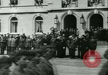 Image of Vichy Legion Tricolore troops Paris France, 1942, second 43 stock footage video 65675020635
