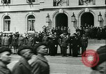 Image of Vichy Legion Tricolore troops Paris France, 1942, second 45 stock footage video 65675020635