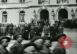 Image of Vichy Legion Tricolore troops Paris France, 1942, second 46 stock footage video 65675020635