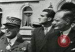 Image of Vichy Legion Tricolore troops Paris France, 1942, second 48 stock footage video 65675020635