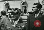 Image of Vichy Legion Tricolore troops Paris France, 1942, second 49 stock footage video 65675020635