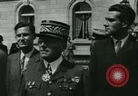 Image of Vichy Legion Tricolore troops Paris France, 1942, second 50 stock footage video 65675020635
