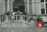 Image of confiscated radios Bayeux Normandy France, 1945, second 10 stock footage video 65675020661