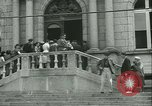 Image of confiscated radios Bayeux Normandy France, 1945, second 12 stock footage video 65675020661