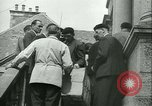 Image of confiscated radios Bayeux Normandy France, 1945, second 17 stock footage video 65675020661