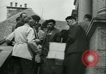 Image of confiscated radios Bayeux Normandy France, 1945, second 18 stock footage video 65675020661