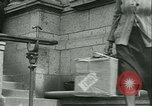 Image of confiscated radios Bayeux Normandy France, 1945, second 37 stock footage video 65675020661