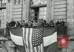 Image of Liberation ceremony Rennes France, 1945, second 2 stock footage video 65675020664
