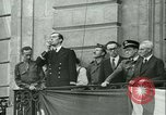 Image of Liberation ceremony Rennes France, 1945, second 4 stock footage video 65675020664