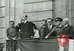 Image of Liberation ceremony Rennes France, 1945, second 5 stock footage video 65675020664