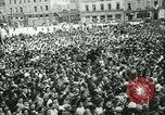 Image of Liberation ceremony Rennes France, 1945, second 7 stock footage video 65675020664