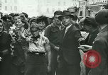 Image of Liberation ceremony Rennes France, 1945, second 10 stock footage video 65675020664
