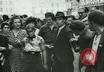Image of Liberation ceremony Rennes France, 1945, second 12 stock footage video 65675020664