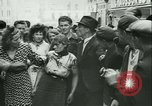 Image of Liberation ceremony Rennes France, 1945, second 13 stock footage video 65675020664