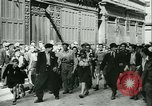 Image of Liberation ceremony Rennes France, 1945, second 14 stock footage video 65675020664