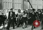 Image of Liberation ceremony Rennes France, 1945, second 16 stock footage video 65675020664