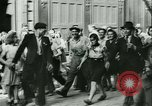 Image of Liberation ceremony Rennes France, 1945, second 17 stock footage video 65675020664
