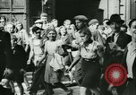 Image of Liberation ceremony Rennes France, 1945, second 19 stock footage video 65675020664