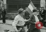 Image of Liberation ceremony Rennes France, 1945, second 21 stock footage video 65675020664