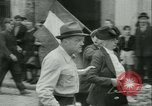 Image of Liberation ceremony Rennes France, 1945, second 22 stock footage video 65675020664