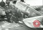 Image of German and British fighter planes in aerial combat France, 1941, second 5 stock footage video 65675020692