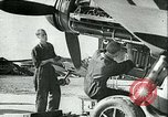 Image of German and British fighter planes in aerial combat France, 1941, second 8 stock footage video 65675020692