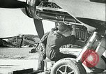 Image of German and British fighter planes in aerial combat France, 1941, second 11 stock footage video 65675020692