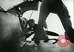 Image of German and British fighter planes in aerial combat France, 1941, second 20 stock footage video 65675020692