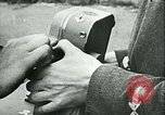 Image of German and British fighter planes in aerial combat France, 1941, second 29 stock footage video 65675020692