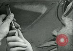 Image of German and British fighter planes in aerial combat France, 1941, second 33 stock footage video 65675020692