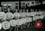 Image of Milwaukee Braves baseball team arrives in the city Milwaukee Wisconsin USA, 1953, second 7 stock footage video 65675020699