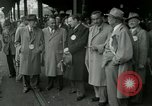 Image of Milwaukee Braves baseball team arrives in the city Milwaukee Wisconsin USA, 1953, second 12 stock footage video 65675020699