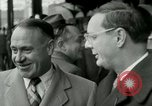 Image of Milwaukee Braves baseball team arrives in the city Milwaukee Wisconsin USA, 1953, second 13 stock footage video 65675020699