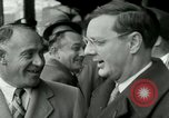 Image of Milwaukee Braves baseball team arrives in the city Milwaukee Wisconsin USA, 1953, second 14 stock footage video 65675020699