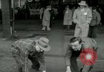 Image of Milwaukee Braves baseball team arrives in the city Milwaukee Wisconsin USA, 1953, second 19 stock footage video 65675020699