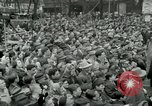 Image of Milwaukee Braves baseball team arrives in the city Milwaukee Wisconsin USA, 1953, second 31 stock footage video 65675020699