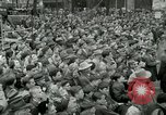 Image of Milwaukee Braves baseball team arrives in the city Milwaukee Wisconsin USA, 1953, second 32 stock footage video 65675020699