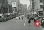 Image of Milwaukee Braves baseball team arrives in the city Milwaukee Wisconsin USA, 1953, second 34 stock footage video 65675020699