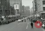 Image of Milwaukee Braves baseball team arrives in the city Milwaukee Wisconsin USA, 1953, second 35 stock footage video 65675020699