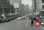 Image of Milwaukee Braves baseball team arrives in the city Milwaukee Wisconsin USA, 1953, second 36 stock footage video 65675020699