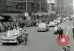 Image of Milwaukee Braves baseball team arrives in the city Milwaukee Wisconsin USA, 1953, second 38 stock footage video 65675020699